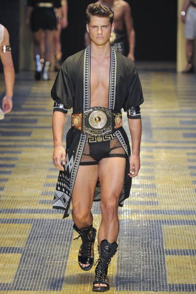 b8b425bae Versace Spring Summer 2013 Menswear show report