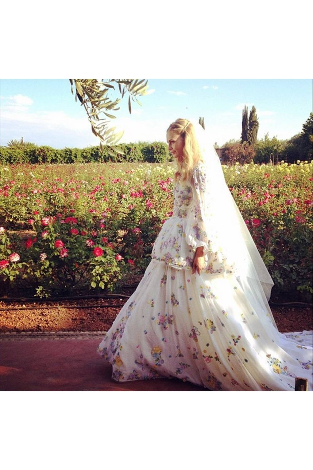 d51b97a25ecb The Rise Of The Instagram Wedding | British Vogue