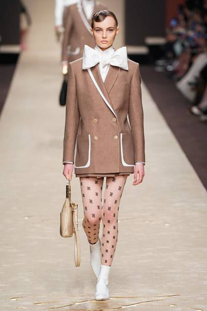 9a68a565838 Karl Lagerfeld's Final Fendi Show At Milan Fashion Week | British Vogue