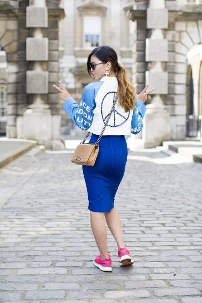 Alice Nguyen, fashion student
