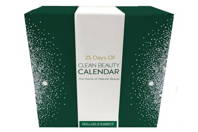 Holland &Barrett 25 Days of Clean Beauty Calendar