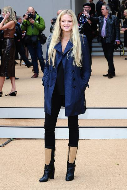Burberry show - September 16 2013