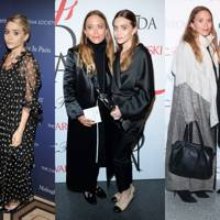 The Olsens' oversized silhouettes