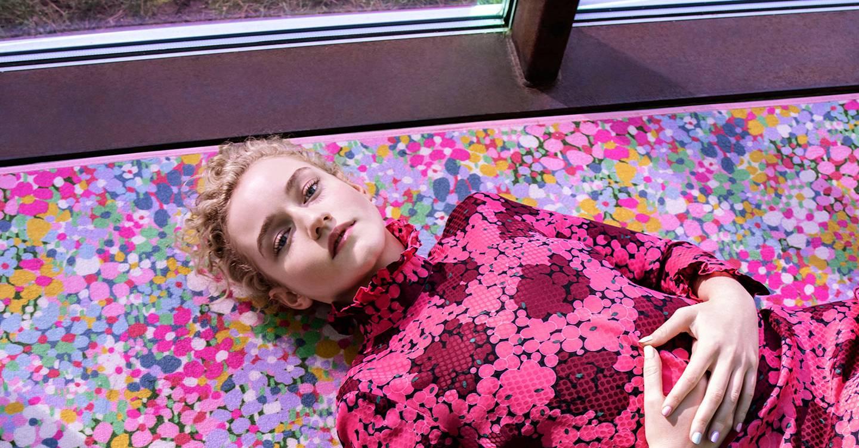 Ozark's Julia Garner Gets The Tim Walker Treatment In New Kate Spade Campaign