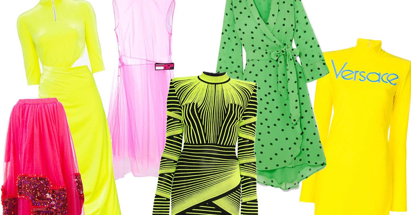How To Wear Neon: This Season's Standout Trend