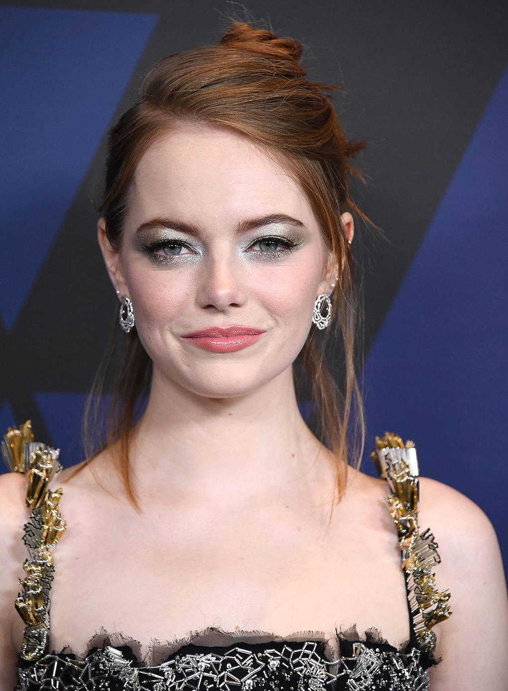 Emma Stone Hair Style File Hairstyles And Colour British Vogue