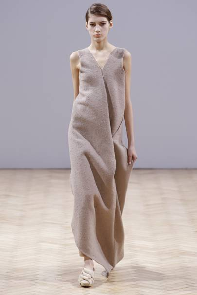 The Felted Dress