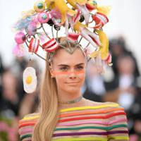 Cara Delevingne Was An Explosion Of Curiosities