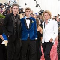 Gabriel-Kane Day-Lewis, Presley Gerber and Jordan Barrett