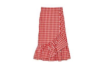 The Wrap Ruffle Skirt