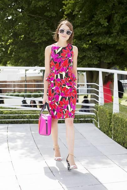 Ella Catliff, blogger and model