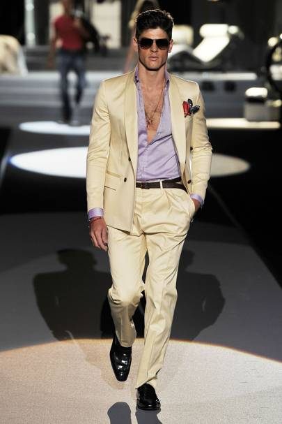 68358c0bb3 Dsquared2 Spring Summer 2011 Menswear show report