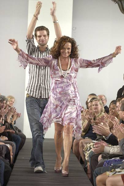 2 He'd never heard of Diane von Furstenberg when she first made contact