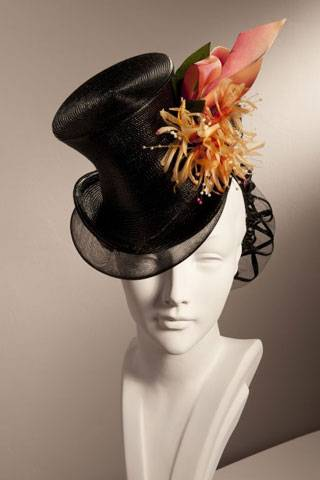 The Royal Ascot is inspired by the rich equestrian heritage of Coworth Park  and a modern interpretation of a ladies dressage top hat 5e9ad79df3f