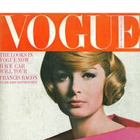 Vogue cover, May 1964