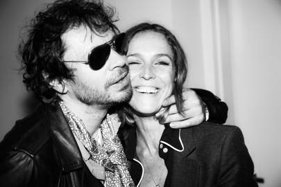 Olivier Zahm and Aleksandra Woroniecka