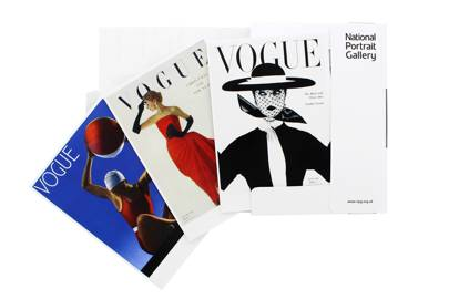 Vogue notecard pack
