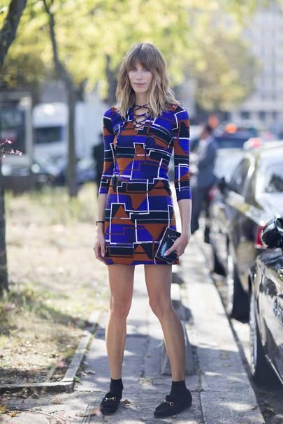 Veronika Heilbrunner, fashion editor
