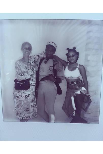 Adwoa Aboah, Shamir & Amandla Stenberg
