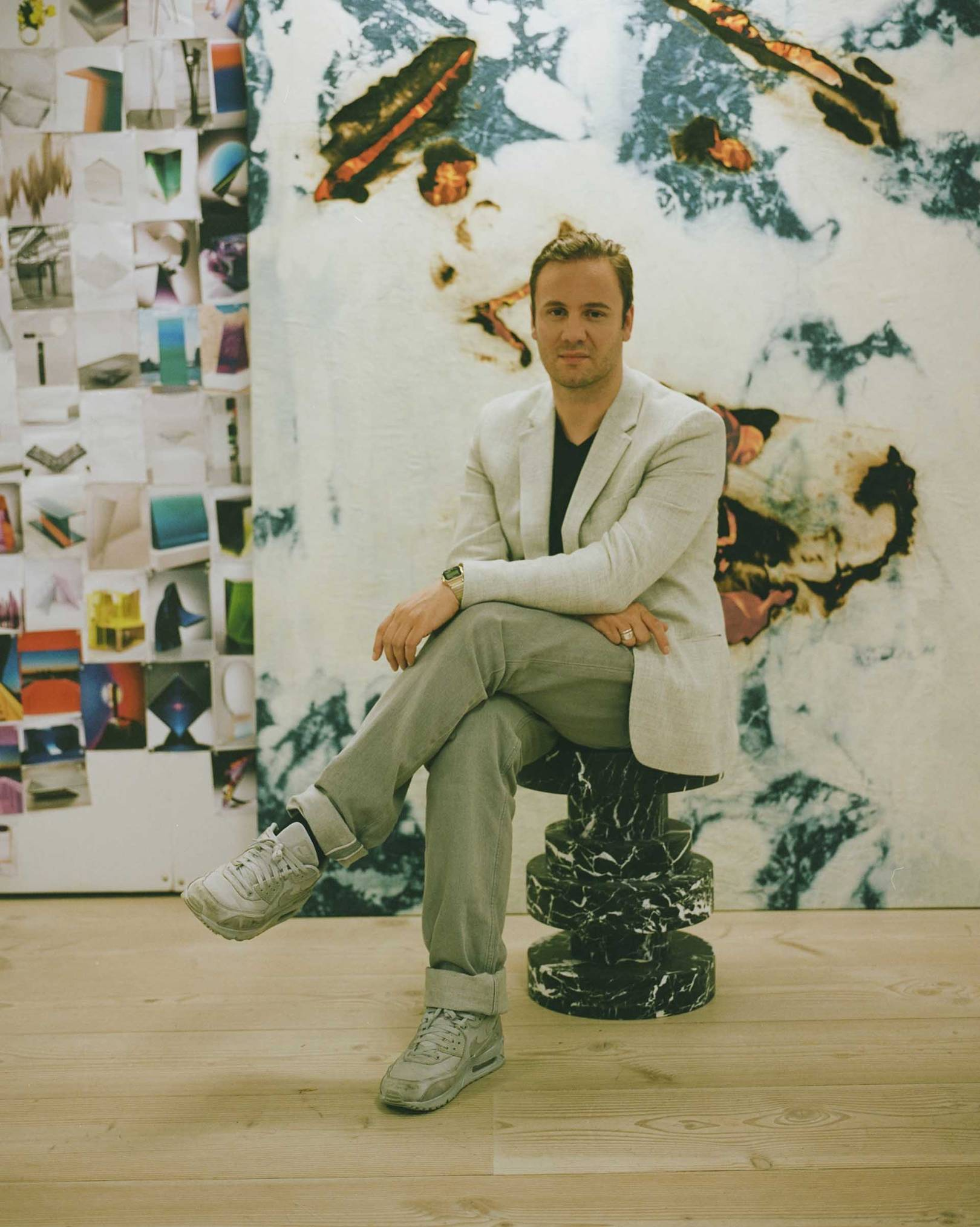 Fashion style Nicholas Kirkwood Joins London Collections: Men for woman