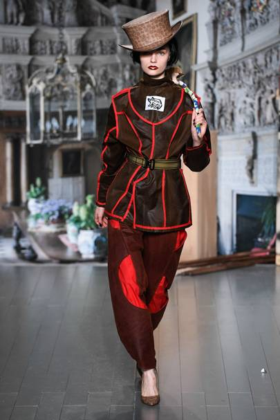 bf3d10d18d2df0 Matty Bovan Spring/Summer 2019 Ready-To-Wear show report   British Vogue