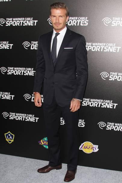 36. Footballer David Beckham