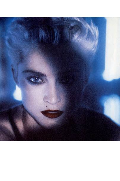 Madonna in her Live To Tell video, 1986