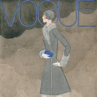 Vogue Cover, October 1928