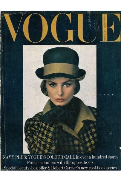 Vogue cover, February 1964