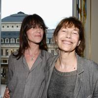 Charlotte Gainsbourg and Jane Birkin