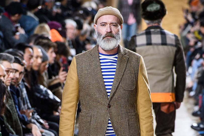 b85bf77081e Junya Watanabe Autumn Winter 2019 Menswear show report