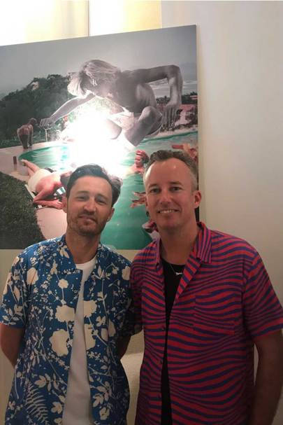 Toby Jonas and Mikey Nolan of Double Rainbouu
