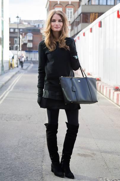 Natalie Morris, model