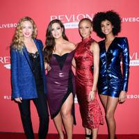 Revlon's 'Live Boldly' campaign launch, New York – January 24 2018
