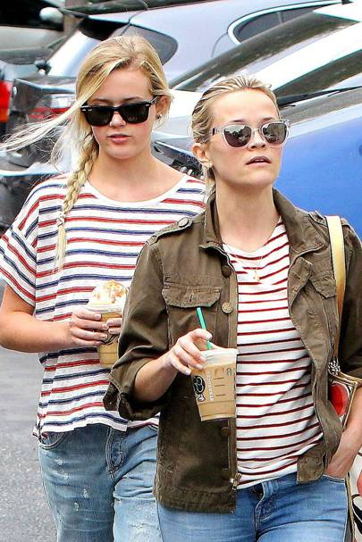 Reese Witherspoon & Ava Philippe
