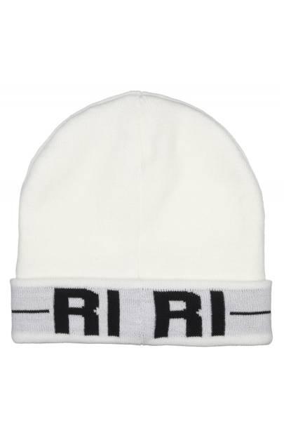 White Riri beanie, £15