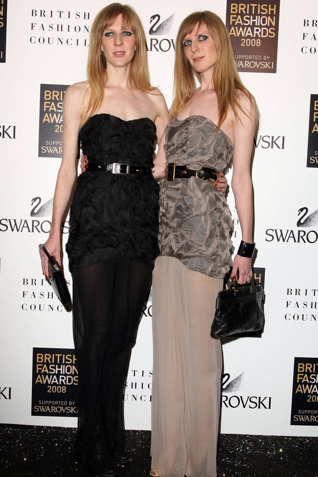 British Fashion Awards 2008 Luella Matthew Willaimson Alexa Chung Bri Fash Black Jourdan Dunn Vogue