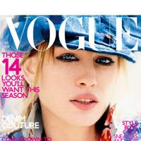 Vogue Cover, August 2001