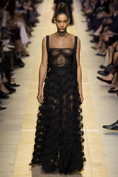 Dior's Gothic Gown