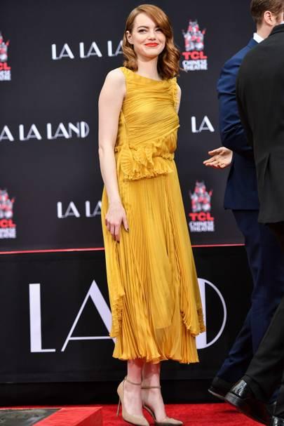 La La Land hand and footprint ceremony, Los Angeles - December 7 2016