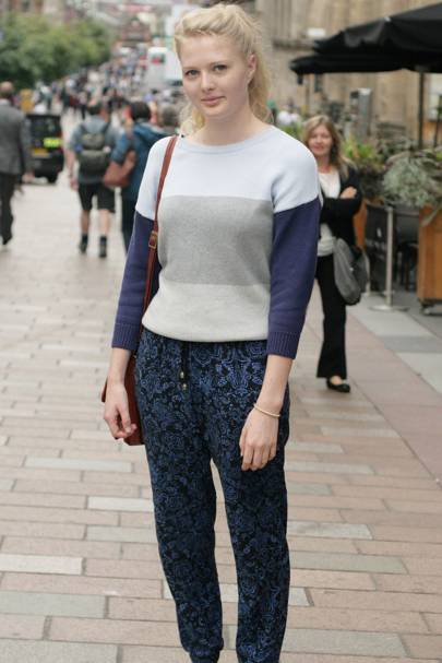Glasgow Street Style British Vogue