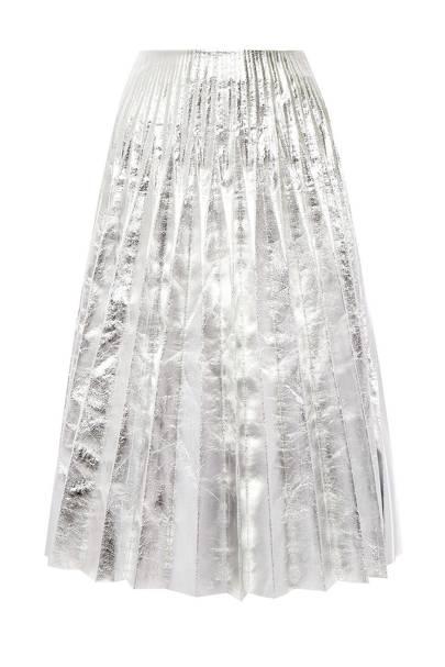 The Pleated Skirt: