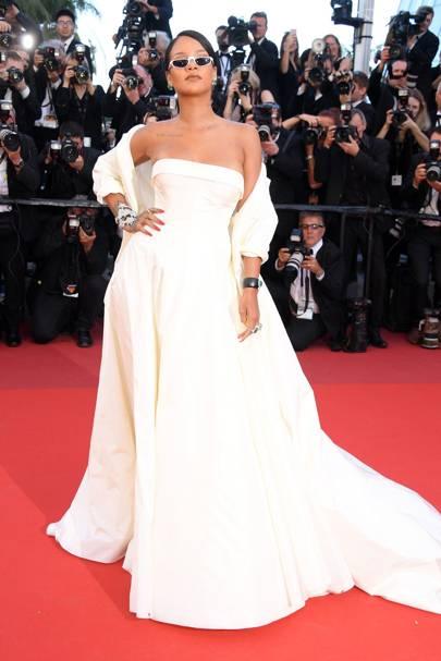 3. Rihanna in Dior