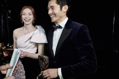 Eleanor Tomlinson and Henry Golding