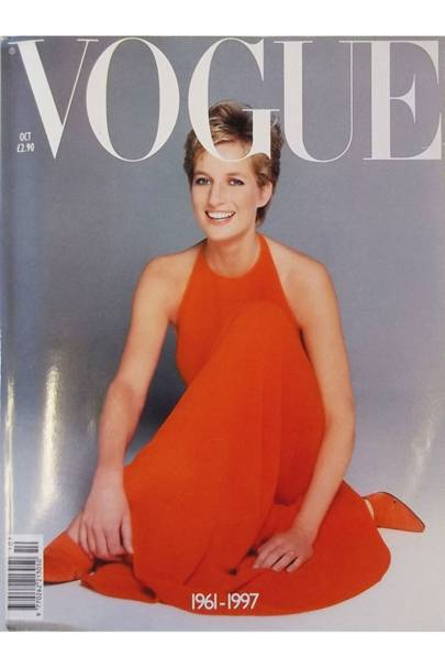 The Inside Story Diana Princess Of Wales S Vogue Covers