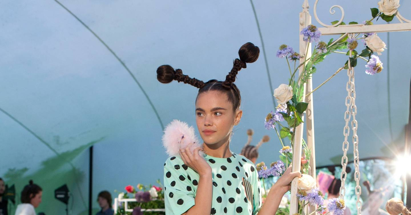 Angelica Sofia Saenz sophia webster spring/summer 2014 ready-to-wear show report