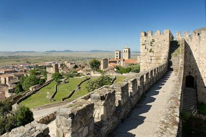 Trujillo Castle, Cáceres, Spain