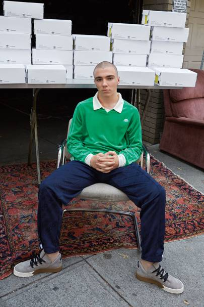Rocco Ritchie, 17