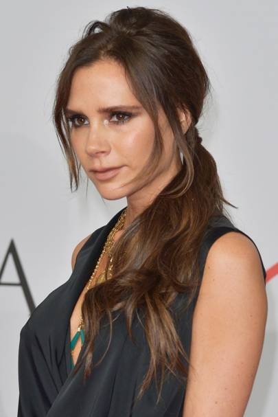Victoria Beckham Hair And Hairstyles 1997 2018 British Vogue