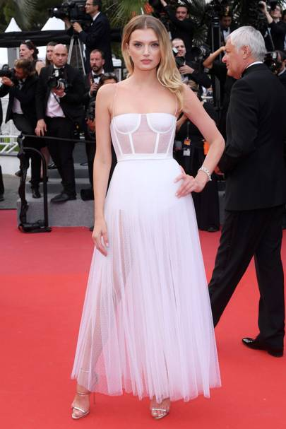 9. Lily Donaldson in Dior